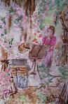 La journée des peintres. Amis des Roses Orléanaises