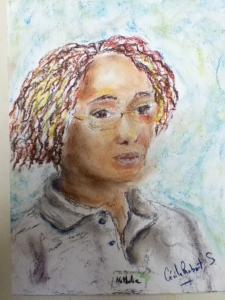 Portraits rapides au Pastel sec