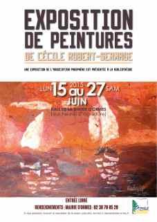 Exposition Peinture et sculpture Mairie de Ormes, Loiret