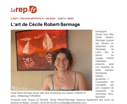 larep.fr - L'art de Cécile Robert-Sermage»_2