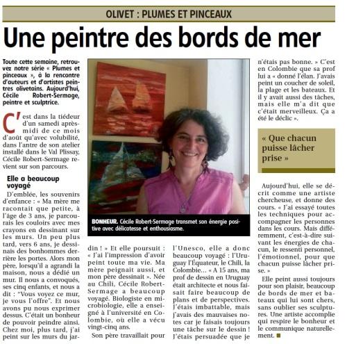 Cécile Robert-Sermage Artiste peintre