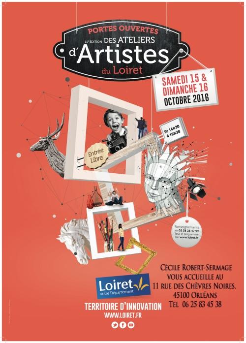 Portes ouvertes Atelier d'Artistes du Loiret