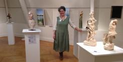 Cécile Robert-Sermage et ses sculptures